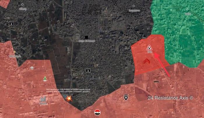 Сирия давит на ИГИЛ на юге Дамаска Политика, Война в сирии, Перевод, Длиннопост