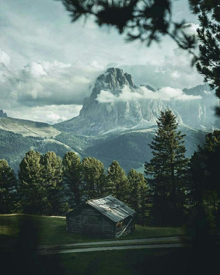 Природа Италии Природа, Уединение, Фотография, Длиннопост, Италия
