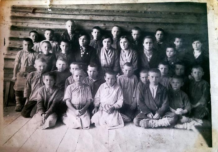 Фото из семейного архива Старое фото, Архив, Работа, Школа, Фронтовик, После войны, Длиннопост