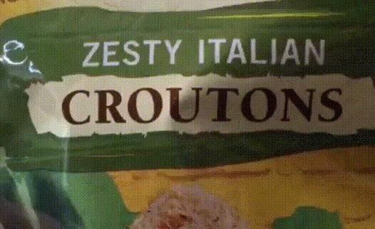 """Итальянские гренки под маркой """"оригинальные техасские тосты"""" от компании """"булочная Нью-Йорк"""", произведено в Коламбусе, штат Огайо"""