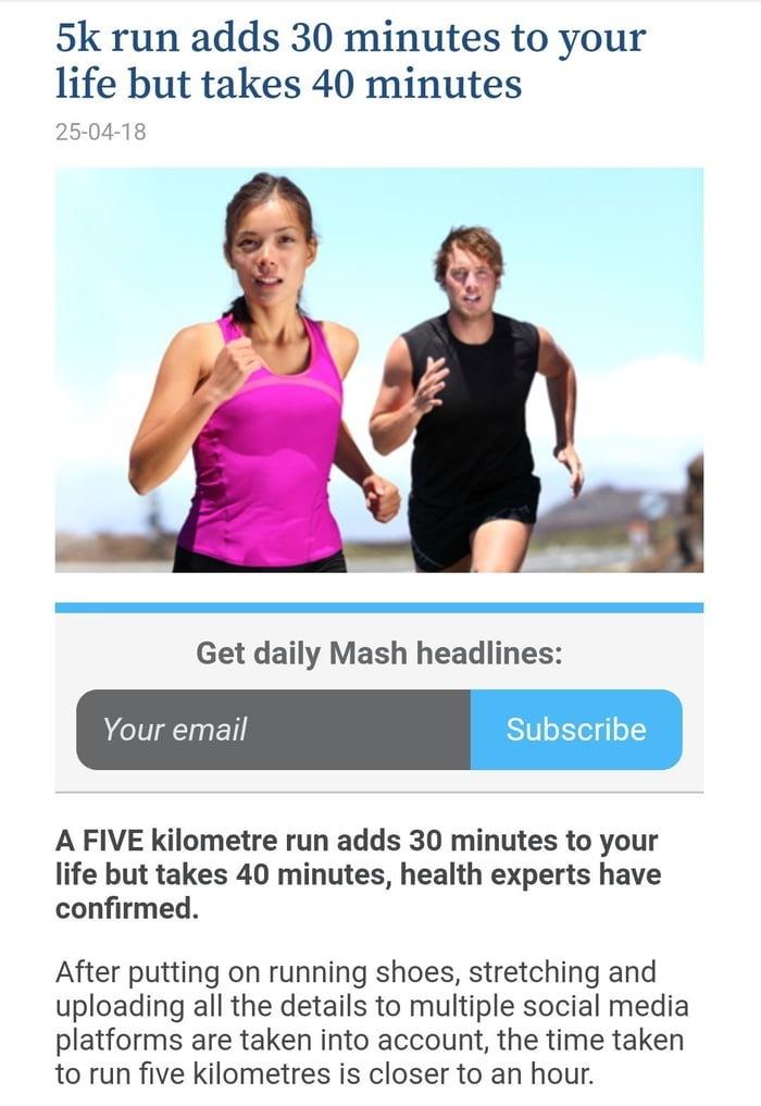 Бегайте быстрее, чтобы успеть воспользоваться дополнительными минутами. Спорт, Здоровье, 9gag
