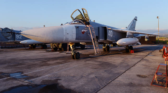 Самолеты ВКС России на базе Хмеймим