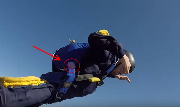 """""""Маленькая"""" ошибка парашютиста"""