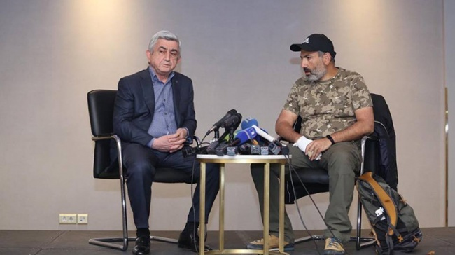 Армянская «иллюзия обмана» Серж Саргсян, ереван, армения, протесты в мире, пашинян, США, отставка, длиннопост, Политика