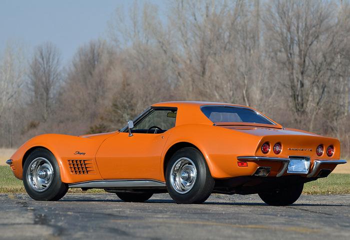 Chevrolet Corvette Stingray ZR-2 LS6 454 (C3) (1971) Авто, 1970, Скорость, Длиннопост