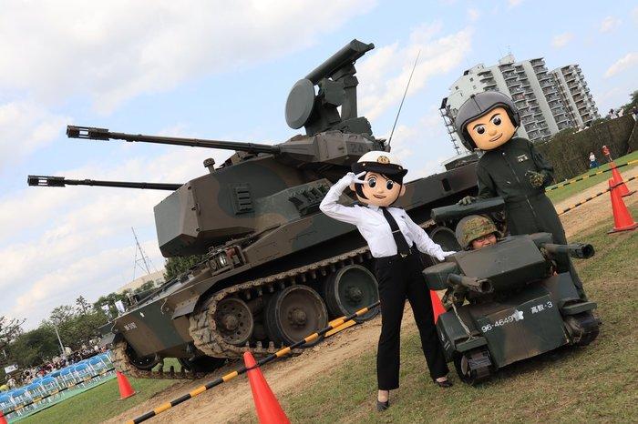"У вас ""кавай""! Японская армия, Кавай, Военные, Японцы"