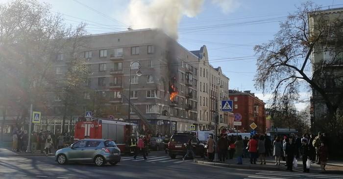 А у нас пожар не гас Пожар, Зевака, Васька, Санкт-Петербург, Не повторять, Длиннопост