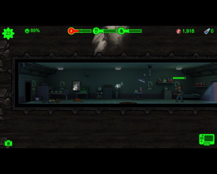 Пикабу уходит под землю! Игровая партия в Fallout Shelter [День 2] 200элит, Fallout, Fallout shelter, Партия, Летсрид, Длиннопост