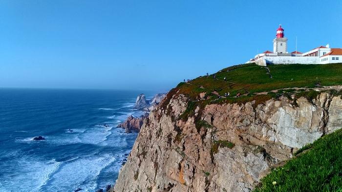 Португалия. Это место, где земля кончается и начинается море. Португалия, Видео, Мыс Рока, Путешественники, Длиннопост