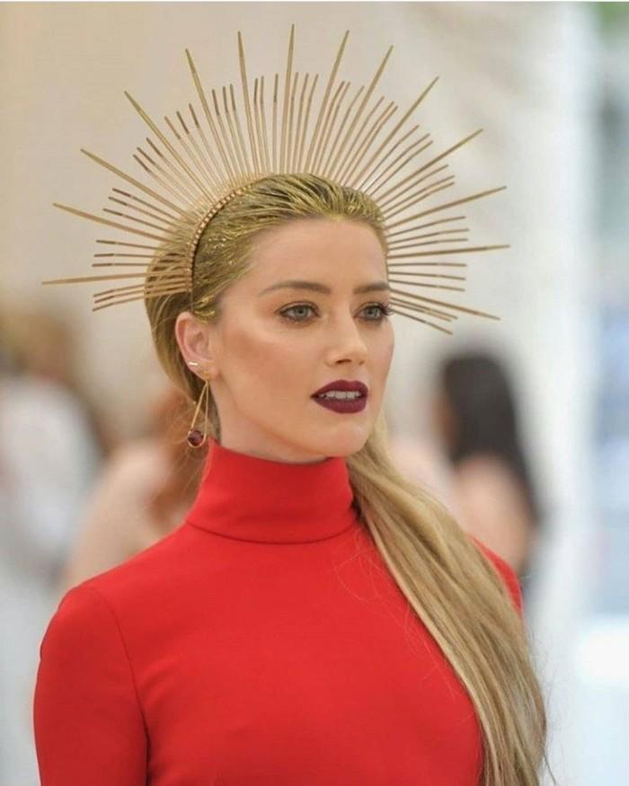Если бы я был модельером Украшения ручной работы, Хомут, Эмбер Хёрд, Met Gala, Длиннопост, Мода