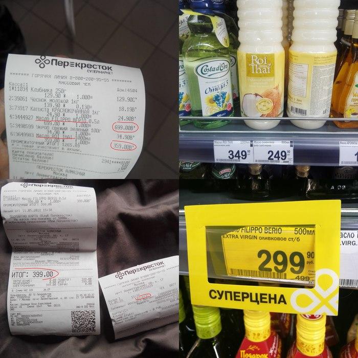 Знайте о своих потребительских правах. Супермаркет Перекресток, Обман, Негатив, Защита прав потребителей, Длиннопост