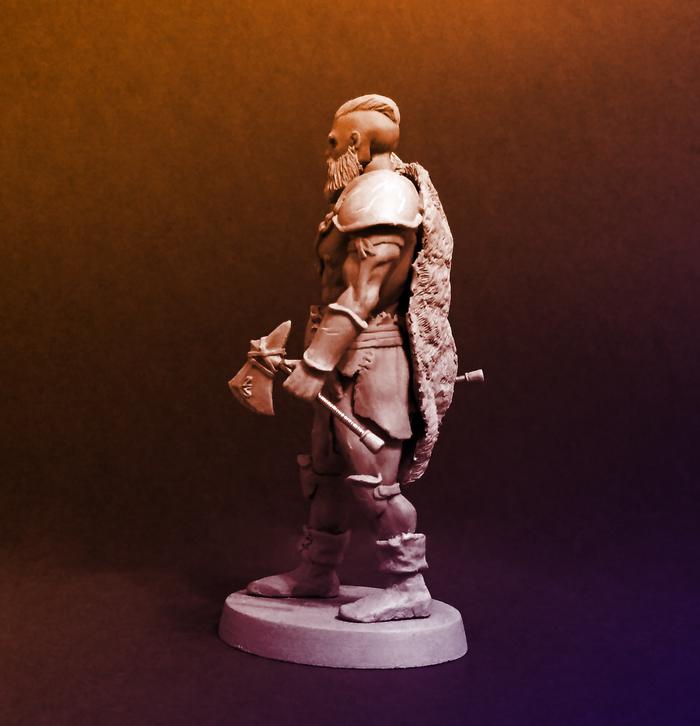 Варвар. Моё, Скульптура, Ручная работа, Полимерная глина, Рукоделие без процесса, Длиннопост