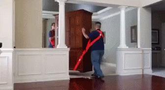 Для переноса мебели