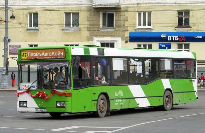 Свадебный автобус