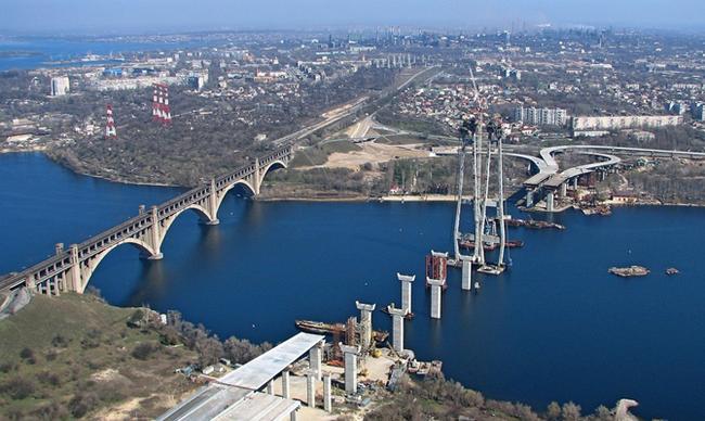 Мост. Не керченский. Мост, Запорожье, Долгострой, Городские легенды