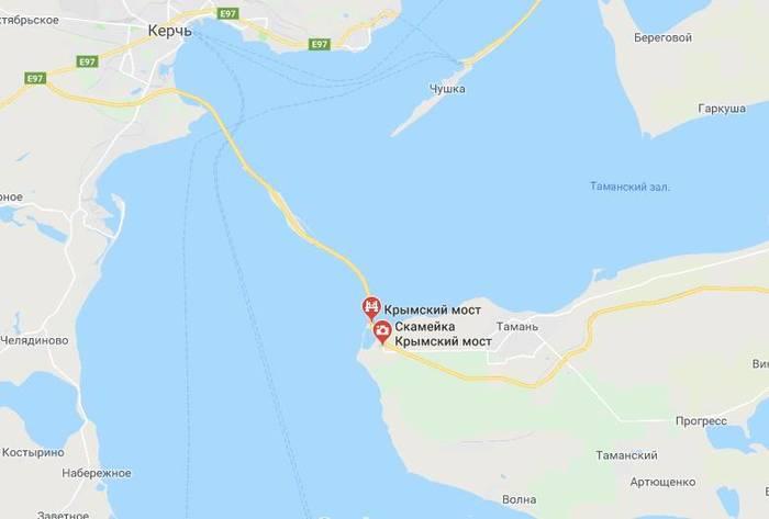 И ты, Брут: Google предал Украину Украина, Google maps, Крым, Россия, Крымский мост, Политика, Длиннопост