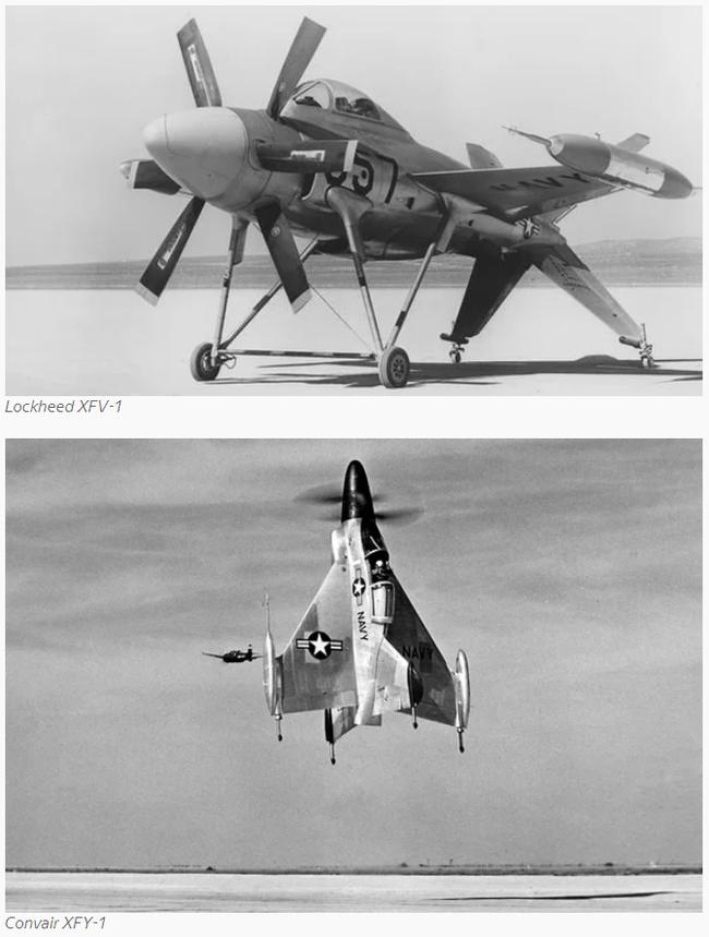 Lockheed XFV-1 «Salmon»: экспериментальный истребитель вертикального взлёта и посадки Xfv-1, СВВП, Турбовинтовой, Длиннопост, VTOL, Сидящий на хвосте, Самолет вертикального взлета и, Видео, Гифка