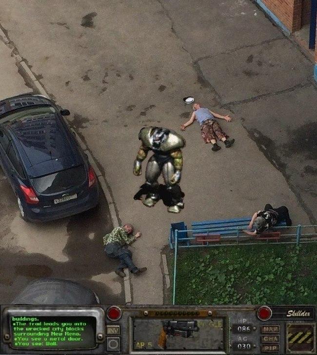 Не отличить от реальности Fallout 2, Игры