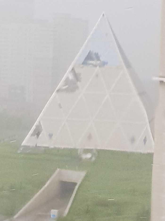 Апокалипсис в Астане Астана Казахстан, Астана, Шторм, Погода, Хреновая погода, Тобi пiзда, Длиннопост, Видео