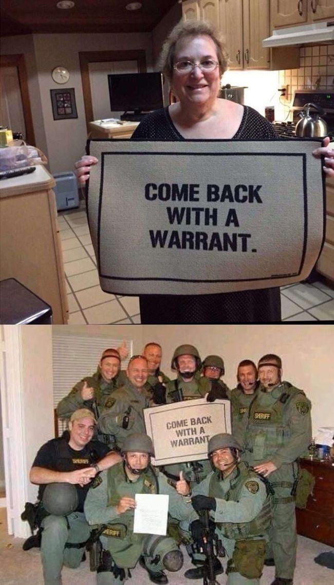 Возвращайтесь с ордером — Ok
