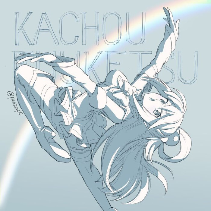 Kono Subarashii Sekai ni Shukufuku wo! Anime Art, Аниме, KonoSuba, Megumin, Aqua, Darkness, Kazuma Satou, Peeape, Длиннопост