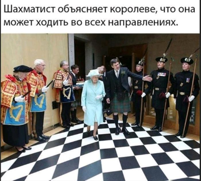 Шахматы и королева