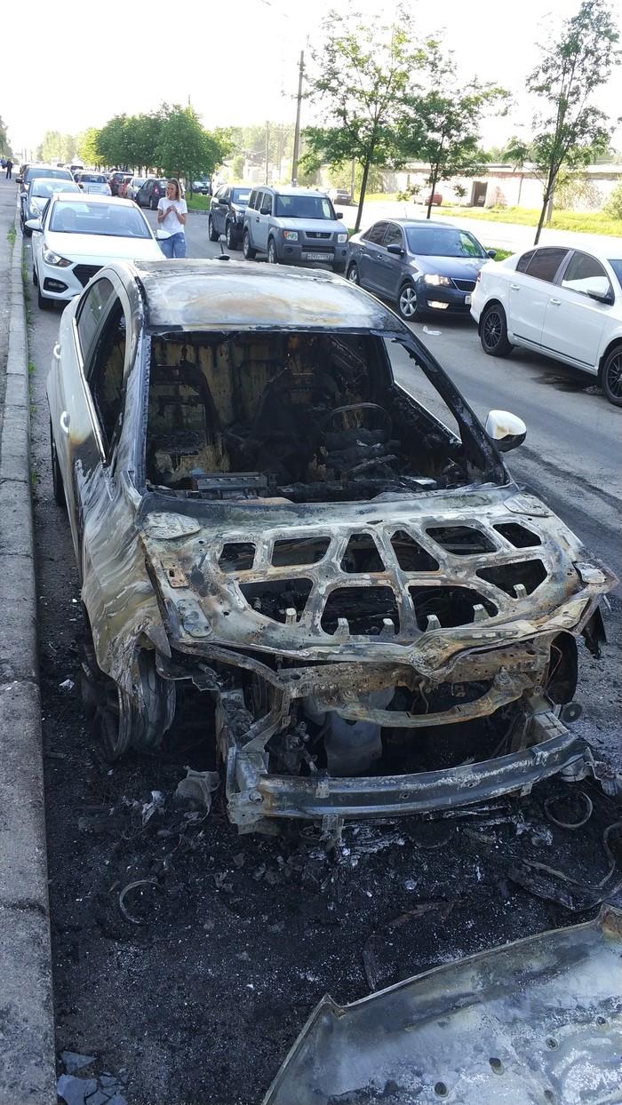 Сгорел сгорел, машина, пожар, длиннопост
