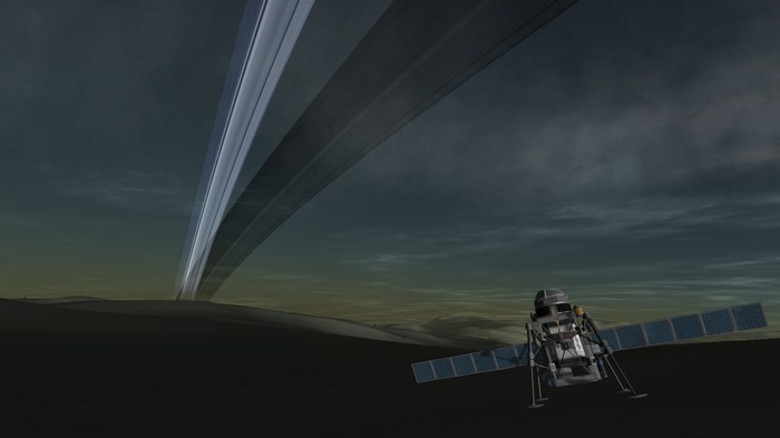 [KSP] Карьера с GPP, часть 9. Посадка на Tellumo. Kerbal Space Program, Игры, Космосимы, Длиннопост