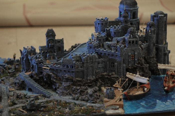 Макет замка Паладинов по мотивам игр серии Gothic Gothic, Художественное моделирование, Макет, Замок, Длиннопост