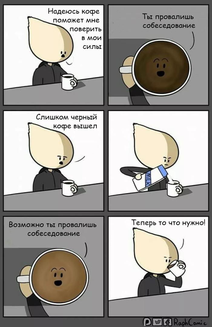 Кофе перед собеседованием