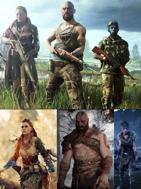 - Дай списать Дай списать, Battlefield v, Battlefield, Игры, God of War, Hellblade Senuas Sacrifice, Horizon Zero Dawn