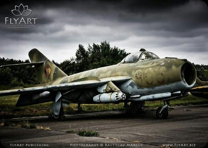 МиГ-17Ф ВВС ГДР