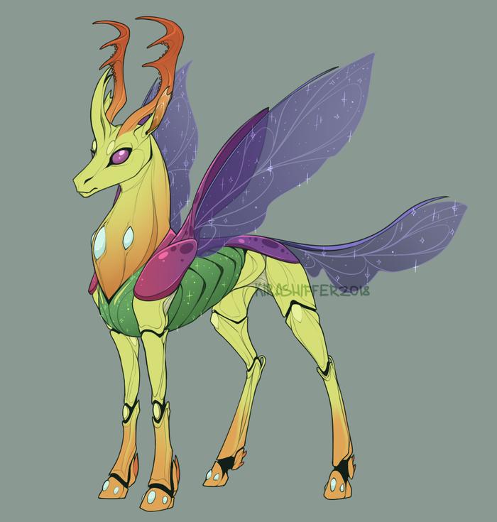 Bzzzzzz My little pony, Thorax, Ponyart