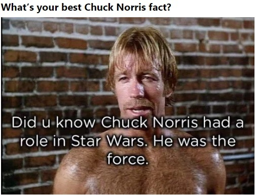 Какой лучший факт о Чаке Норрисе вы знаете? Чак норрис, Star wars, Факты, Фильмы, Перевод, 9gag