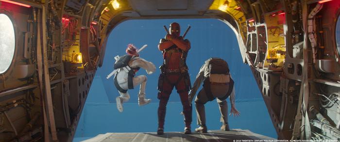 Спецэффекты фильма «Дэдпул 2» Фильмы, Deadpool 2, Marvel, Спецэффекты, До и после vfx, Джош Бролин, Брианна Хилдебранд, Длиннопост