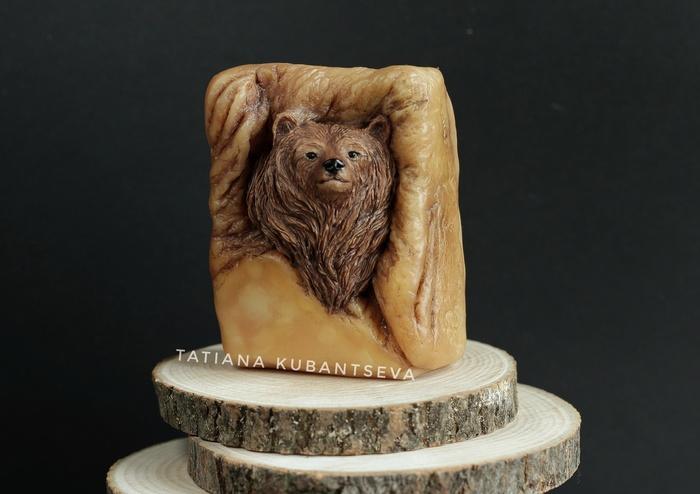 Медведь в камне. Модель для отлива формы. Полимерная глина, Форма для мыла, Модели, Медведь, Животные, Камень, Ручная работа, Рукоделие с процессом, Длиннопост