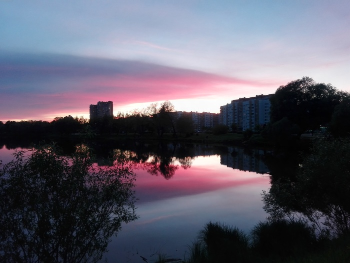 Санкт-Петербург. Закат. Санкт-Петербург, Закат