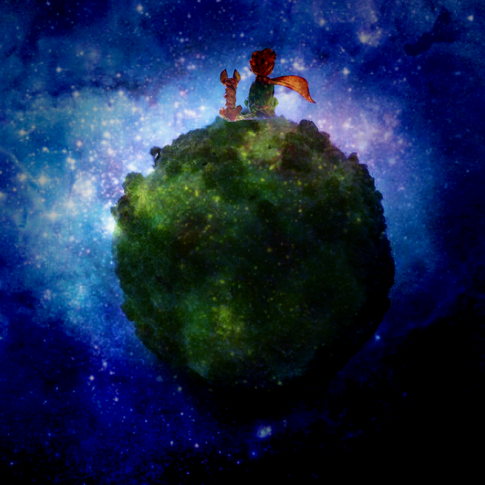 До чего дошёл орех... маленький принц, планета, грецкий орешек