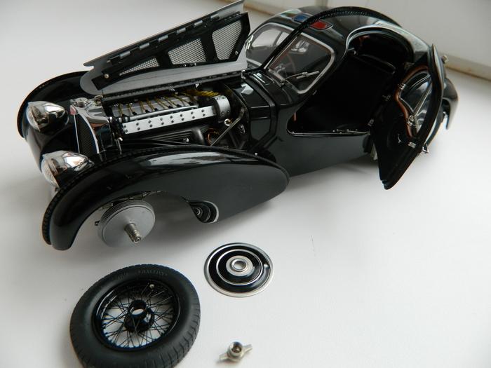Масштабная модельBugatti 57SC Atlantic 1938 Моделизм, Длиннопост, Масштабная модель, Bugatti