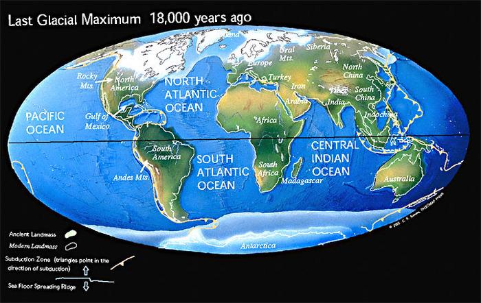 Каким был последний ледниковый период на Земле. Ледниковый период, Последний ледниковый период, Геология, Длиннопост