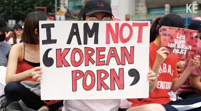 Шпионские камеры. Южная корея, Подглядывание, Девушки, Протест, Скрытая камера, Длиннопост