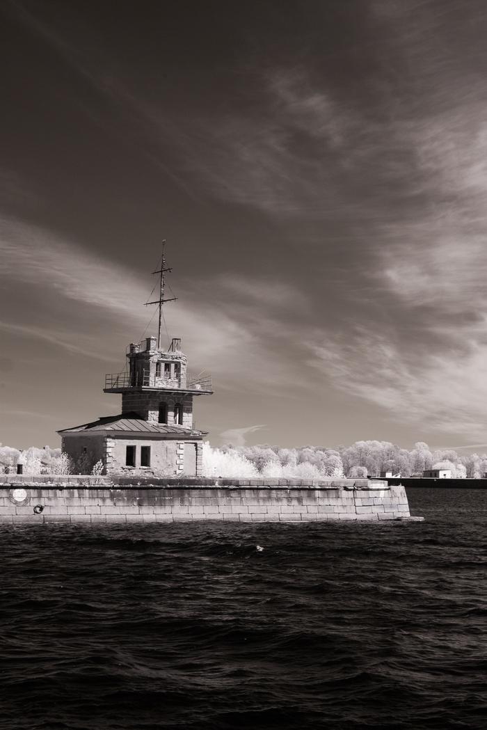 Кронштадт в ИК Фотография, Infrared, Инфракрасная съёмка, Кронштадт, Длиннопост