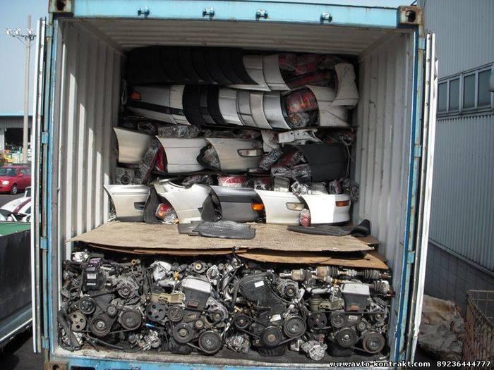 Наглядный пример того, как в контейнерах приезжают запчасти для автомобилей Авто, Запчасти, Контейнер, Длиннопост