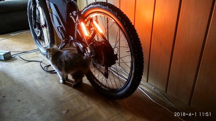 ЭлектробайкSpecialized Epic Электровелосипед, Велосипед, Я сделяль, Очумелые ручки, 3d печать, Длиннопост