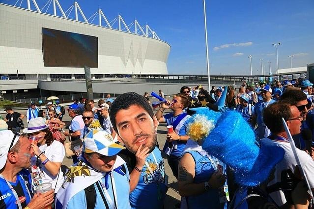 Уругвай в Ростове Футбол, Уругвай, Грусть, Болельщики, Длиннопост