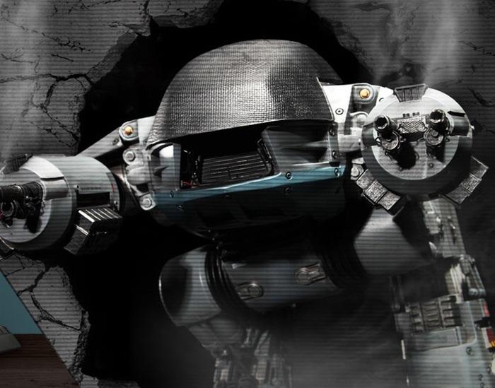 """""""Please put down your weapon. You have 20 seconds to comply."""" Ed-209, Реплика, Коллекционная вещь, Робокоп, Много денег, Фотография, Длиннопост"""