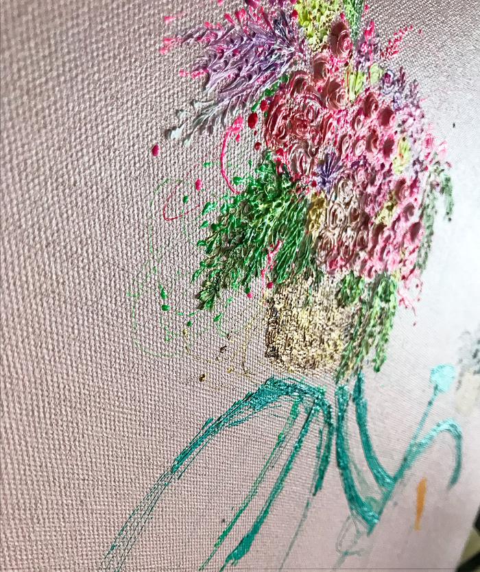 Медсестра рисует шикарные картины рабочим инструментом. арт, необычные картины, Искусство, медсестра, Современное искусство, гифка, длиннопост, шприц