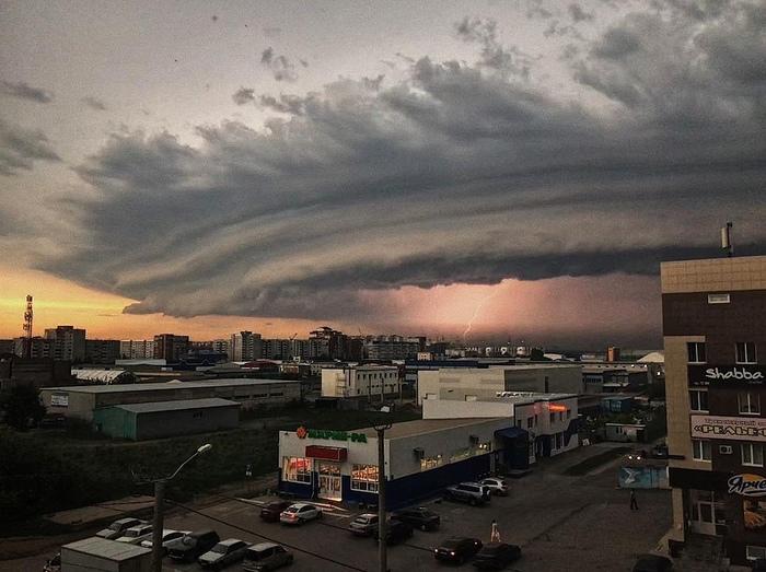 Барнаул сейчас Барнаул, Шторм, гроза, ливень, град, ураган