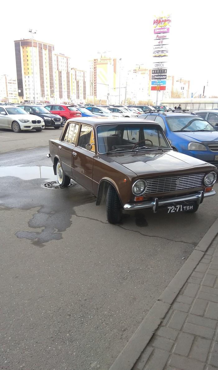 Ухоженный старичок Копейка, Классика, Советский автопром, Казань