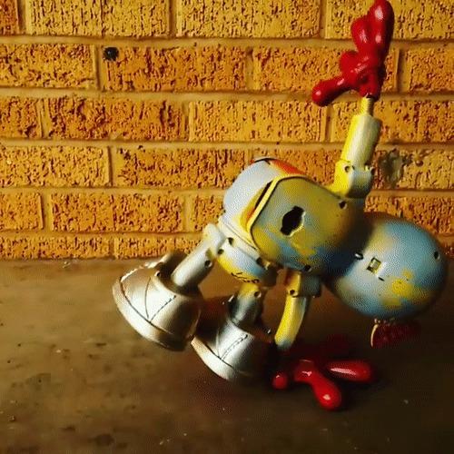 Криповые игрушки для взрослых Игрушки, Крипота, Арт, Дизайнер, Игрушки для взрослых, Гифка, Длиннопост